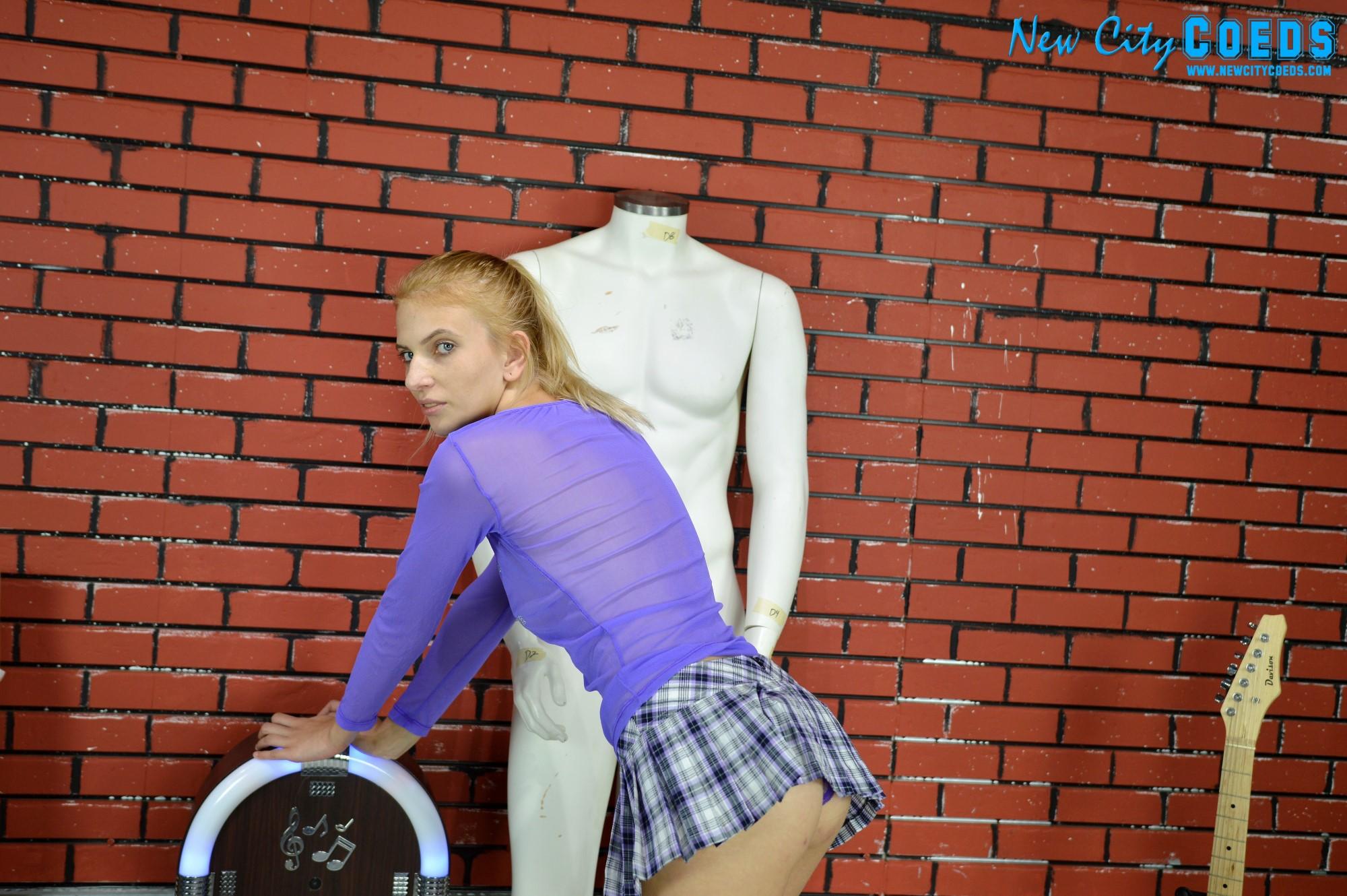 Mandy Coed Model - Bad School Girl - New City Coeds